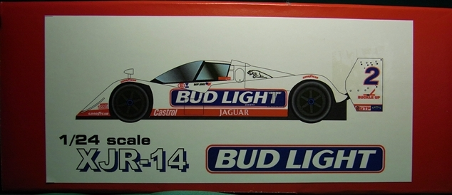 LPE2403   XJR-14  BUDLIGHT 1/20scale kit