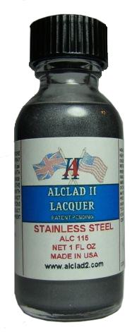 ALC115  ステンレス スチール STAINLESS STEEL (メタリックカラー)
