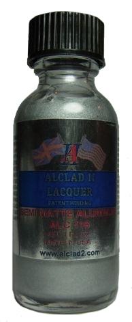 ALC116  セミマット アルミニウム SEMI MATTE ALMINUM (メタリックカラー)