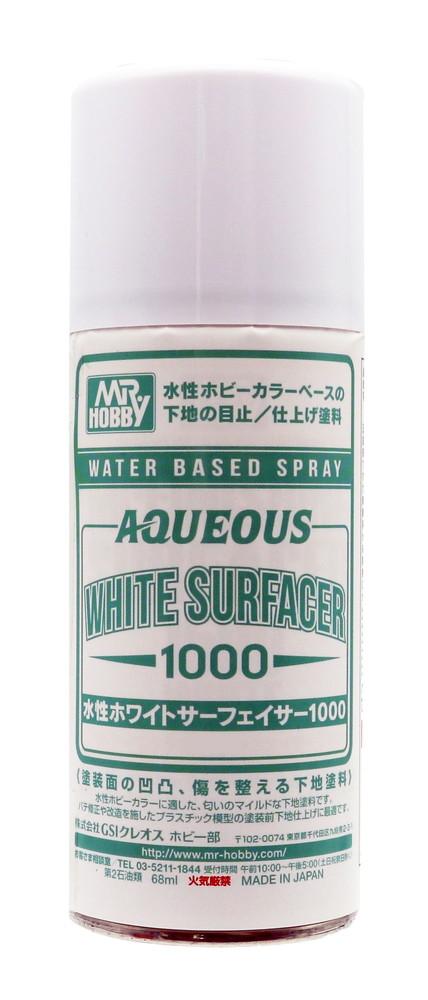 gsi-b612 水性ホワイトサーフェイサー1000スプレー 【Mr.Hobby】