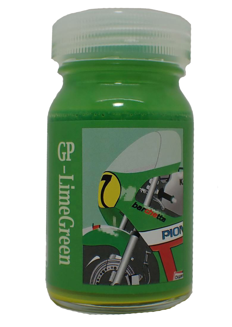 bc042  GP-LimeGreen GPライムグリーン  大瓶50ml  【barchettaColor】