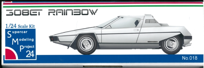 bkit16  308GT RAINBOW 1/24scale kit  Supercar Modeling Project24