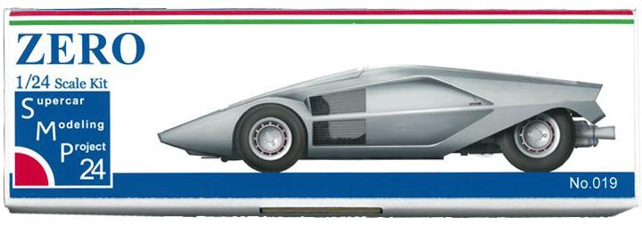 bkit18  ZERO 1/24scale kit Supercar Modeling Project24