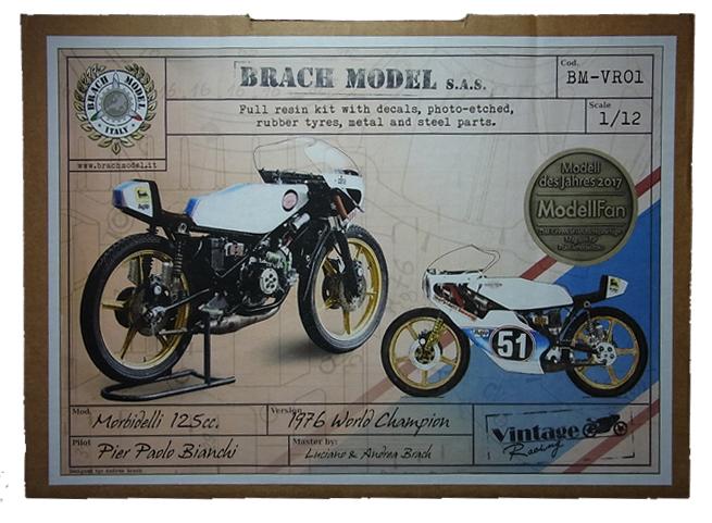 BM-VR01 Morbidell 125cc 1976 World Chanpion  1/12 Brach Model