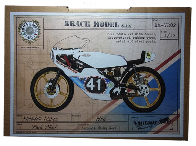 BM-VR02 Morbidell 125cc 1976 1/12 Brach Model