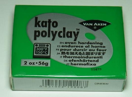 bp1035 オーブン樹脂粘土 ケイトポリクレイ  グリーン  Poly Clay