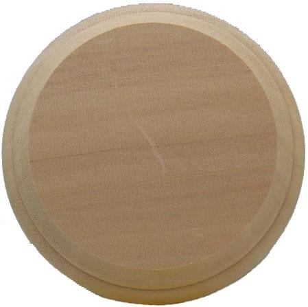 bp789  木製ディスプレイ台  円形 厚さ15mmx直径100mm