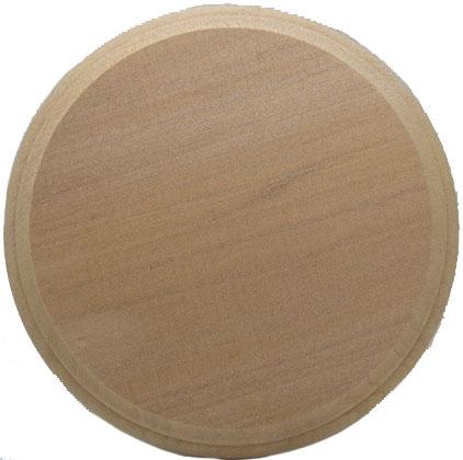 bp790  木製ディスプレイ台  円形 厚さ15mmx直径150mm