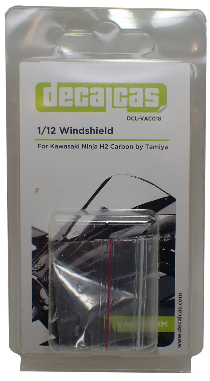 DCL-VAC018 1/12Ninja H2 CARBON用ウインドシールド (decalcas)