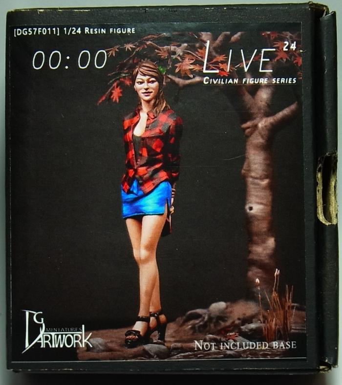 DG75F011  1/24  LIVE 24 【ハセガワ】 RESIN FIGURE