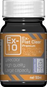 EX10   Ex-フラットクリアー プレミアム 50ml つや消し
