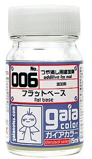 G006  フラットベースflat base  半光沢semi gloss 15ml  (つや消し用添加剤)