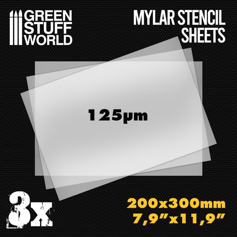 GSWD-10353 塗装器材 L (A4)サイズマイラー製ステンシルシート