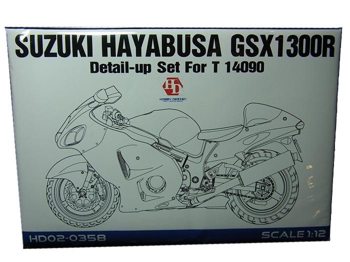 HD02-0358 1/12 SUZUKI HAYABUSA GSX1300R DETAIL UP SET (tamiya1/12対応)Hobbydesign