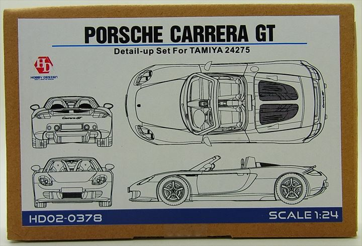 HD02-0378 1/24 PORSCHE CARRERA GT DETAIL UP SET(forTAMIYA)