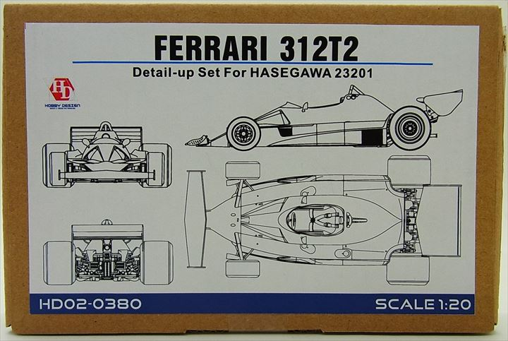 HD02-0380 1/20 FERRARI 312T2  DETAIL UP SET(forHASEGAWA)