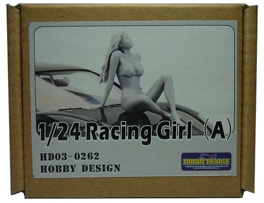 HD03-0262 1/24 レーシングガールフィギュア(A) Racing Girls Hobbydesign