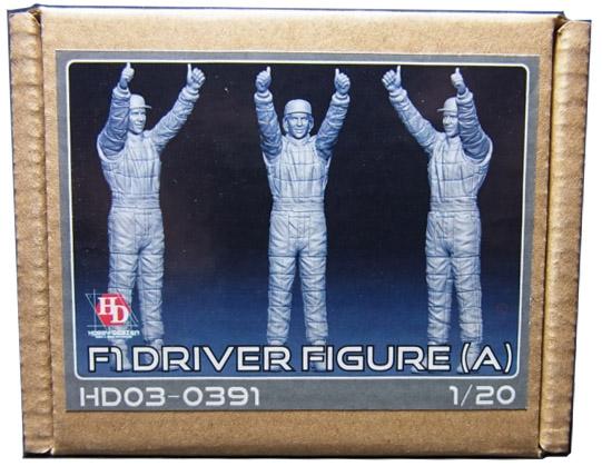HD03-0391 1/20  F1ドライバーフィギュア(A) Hobbydesign