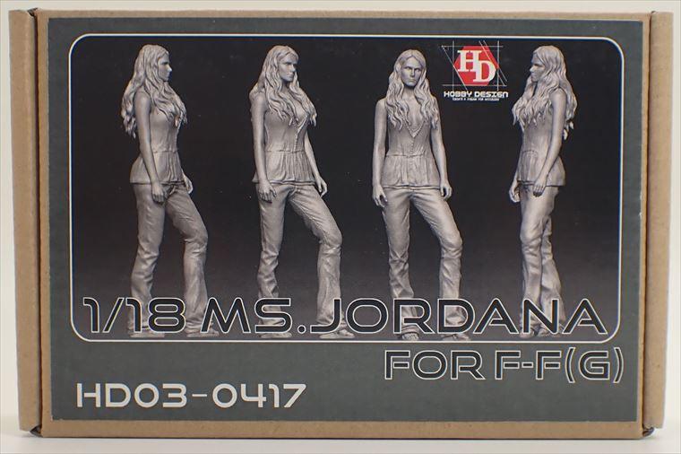 HD03-0417  1/18 Ms.JORDANA (ミア・トレット) フィギュア (G)  Hobbydesign