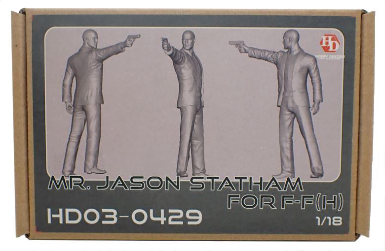 HD03-0429  1/18 MR. Jason Statham (イアン・ショウ) フィギュア (H)  Hobbydesign