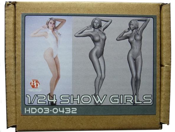 HD03-0432   1/24 ショーガールフィギュア Show Girls (D) Hobbydesign
