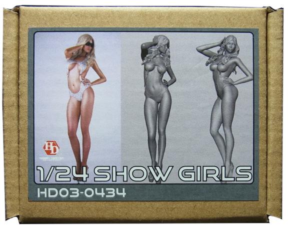 HD03-0434   1/24 ショーガールフィギュア Show Girls (E) Hobbydesign