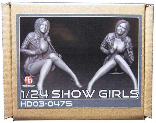 HD03-0475 1/24 ショーガールフィギュア Show Girls Hobbydesign
