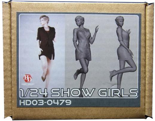 HD03-0479 1/24 ショーガールフィギュア Show Girls Hobbydesign