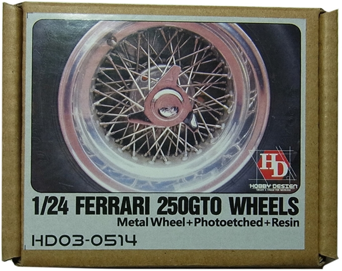 HD03-0514 1/24 FERRARI 250GTO WHEELS (フジミ対応)