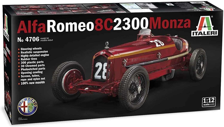 it4708 AlfaRomeo 8C2300Monza 1/12Scale  (ITALERI)