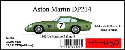 K120 DP214 #7#8 LM1963  1/24 Full detail kit