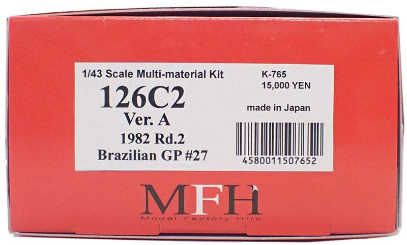 K765 【Ver.A】 126C2  1/43sacle Multi-Material Kit
