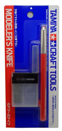 69938  モデラーズナイフ(レッド)   MODELER'S KNIFE (RED)   【タミヤ】