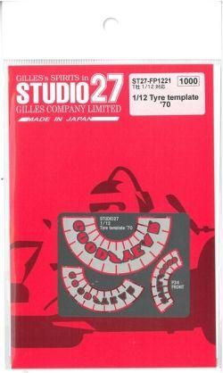 FP1221  1/12 Tire template '70 (T社1/12対応)
