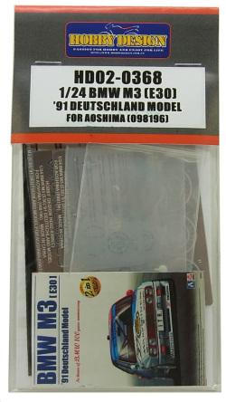 HD02-0368 1/24 BMW M3 DTM (E30) '91DEUTSCHLAND MODEL A社098196