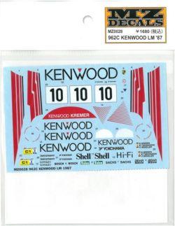 MZ0028 962C KENWOOD LM '87  (K社ミニッツ対応)