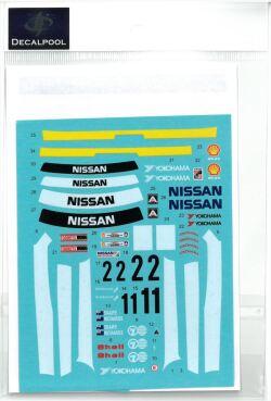 DP240 1/24 Nissan Skyline R32 GT-R Winfield#1/2Winner ATCC'92 (DECAL POOL)