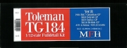 K651 (Ver.B)  Toleman TG184  1/12scale Fulldetail Kit