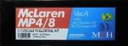 K659  【Ver.A】 McLaren MP4/8   1/12scale Fulldetail Kit