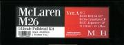 K664  【Ver.A】 McLaren M26   1/12scale Fulldetail Kit