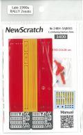 24rh-sab003  1/24 ラリーカー対応のシートベルトセット(1/24Rallycar'90Late対応)