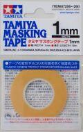 item87206  マスキングテープ 幅/1mm  長さ/18m (TAMIYA)
