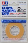 item87207  マスキングテープ 幅/2mm  長さ/18m (TAMIYA)