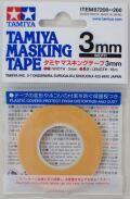 item87208  マスキングテープ 幅/3mm  長さ/18m (TAMIYA)