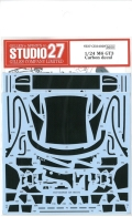 CD24028 1/24 M6 GT3 Carbon decal(P社1/24対応)