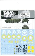 D035015 1/35 M10 Mid Production decal set [1] FOX MODELS