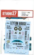 "DC1167  1/24 962C ""Leyton House"" #16 JSPC 1987 (H社1/24対応)"
