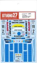 "DC1170  1/24 962C ""BLAUPNKT""#2#/11 Supercup 1989 (H社1/24対応)"