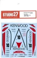 "DC1199 1/24 962C ""Kenwood""#10 JSPC 1988 (H社1/24対応)"