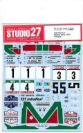 "DC1239 1/20 Fiat 131 Abarth Rally 1978 ""Alitalia""(T社1/20 ITEM20069対応)"